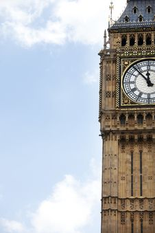 Free London Clock Tower Stock Images - 10176644