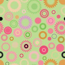 Free Seamless Retro Pattern Stock Image - 10177841