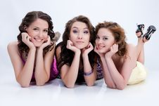 Free Young Emotional Women Royalty Free Stock Photography - 10178007