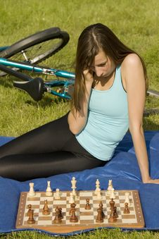 Free Playing Chess Stock Image - 10179091