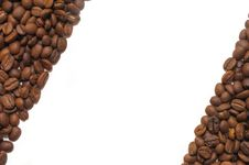 Close Up Of The Aromatic Coffee Beans Royalty Free Stock Image