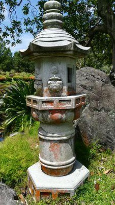 Free Stone Lantern Stock Photo - 101745230