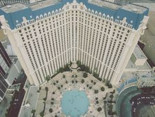 Free Paris Hotel Las Vegas Royalty Free Stock Photos - 101745308