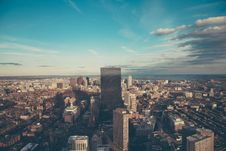 Free Prudential Tower View Boston Stock Photo - 101745400