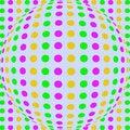 Free Bright Polka Dot Sphere Paper Stock Photos - 10182823