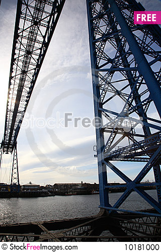 Free Middlesbrough Transporter Bridge Stock Photo - 10181000