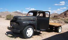 Abandoned Truck Royalty Free Stock Photos
