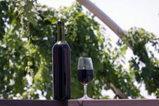 Free Wine At Table Royalty Free Stock Image - 10182756