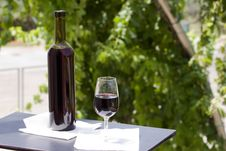 Free Wine At Table Stock Images - 10182824