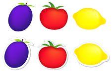 Free Plum, Tomato, Lemon Stock Photos - 10183973