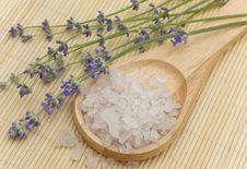 Free Sea Saltin And Lavender Stock Image - 10184621
