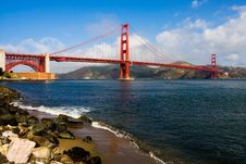 Free Golden Gate Bridge Royalty Free Stock Images - 10184919