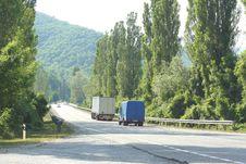 Free Mountain Serpentine Road Stock Image - 10185251