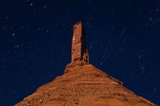 Free Castleton Tower At Night Stock Photography - 10185842
