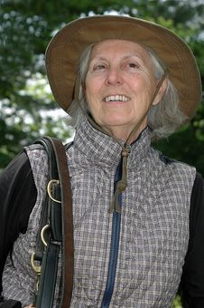 Free Senior Equestrian Woman Royalty Free Stock Image - 10186436