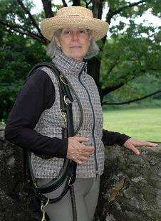 Free Senior Equestrian Woman Stock Photography - 10186602