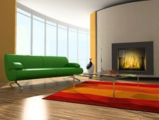 Free Room Interior Royalty Free Stock Image - 10186956
