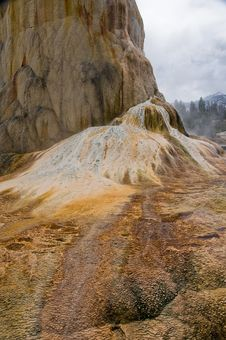 Free Mammoth Hot Springs, Yellowstone Stock Photo - 10187680