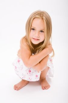 Free Beautiful Little Girl Royalty Free Stock Photos - 10187818