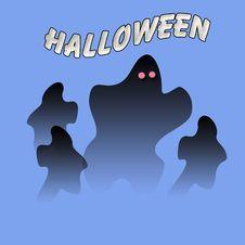Free Halloween Ghost Eyes Stock Photos - 10188373