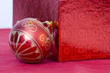 Free Red Bauble Stock Photos - 10188463