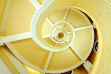 Free Spirals In A Building Stock Photo - 10188830