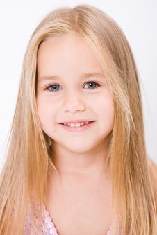 Free Beautiful Little Girl Stock Photography - 10188842