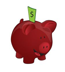 Free Full Piggy Bank Royalty Free Stock Image - 10188846
