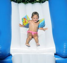 Waterpark Slide Royalty Free Stock Images