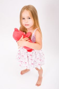 Free Beautiful Little Girl Stock Photography - 10189002