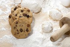 Free Cookies Royalty Free Stock Photo - 10189015
