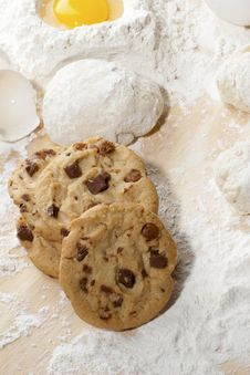 Free Cookies Royalty Free Stock Photo - 10189025