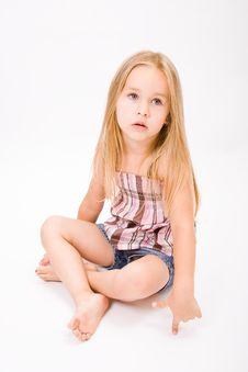 Free Beautiful Little Girl Stock Photography - 10189432