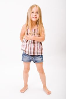 Free Beautiful Little Girl Royalty Free Stock Photos - 10189508