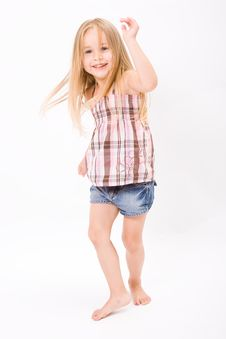 Free Beautiful Little Girl Stock Photography - 10189792