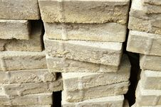 Pile Of Decorative Bricks Royalty Free Stock Images