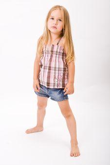 Free Beautiful Little Girl Stock Photo - 10189920