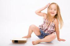 Free Beautiful Little Girl Stock Photo - 10189980