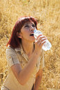 Free Woman Thirsty Stock Photos - 10196983
