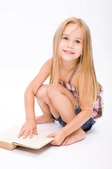 Free Beautiful Little Girl Royalty Free Stock Photo - 10190065