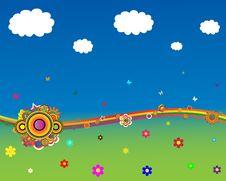 Free Summer Design.Rainbow Stock Photo - 10190860