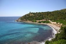 Free Beach Of Cala Reggina Stock Photos - 10191233