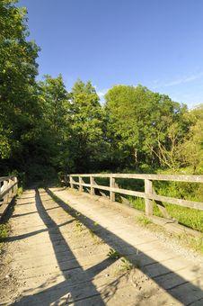 Free Wooden Bridge Royalty Free Stock Images - 10191699