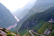 Free Mountain Road Royalty Free Stock Photo - 10192385