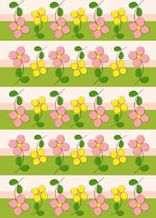 Free Floral Pattern Stock Photo - 10192860