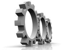 Free Gears Stock Image - 10192861