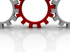 Free Gears Royalty Free Stock Photography - 10193037