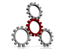 Free Gears Royalty Free Stock Photography - 10193877