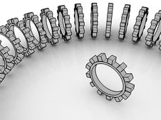 Free Gears Stock Photography - 10193892
