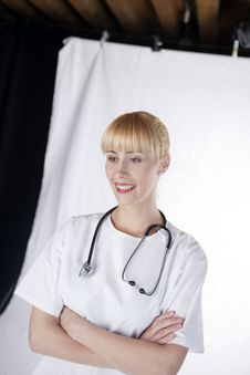 Female Medical Doctor Royalty Free Stock Image